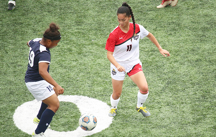 Women's Soccer Opens League Play with 2-0 Loss at Elms