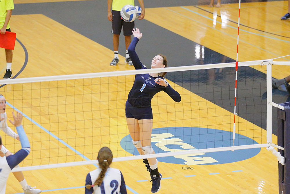 Lasell Women's Volleyball comes up short at Worcester State
