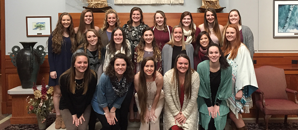 Volleyball Recognizes Team Award Winners at Year-End Banquet
