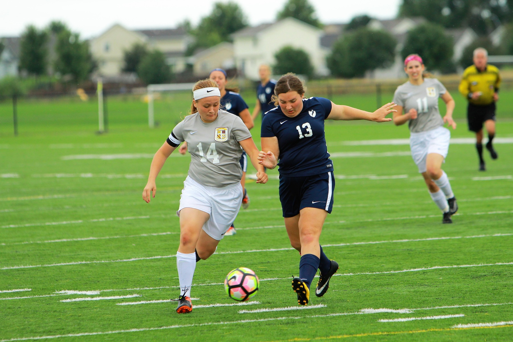 Women's Soccer Rolls to 7-0 Win Over Manhattan Christian