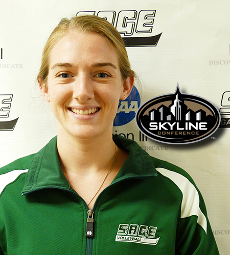 Liebig named Skyline Conference Women's Volleyball Player of the Week