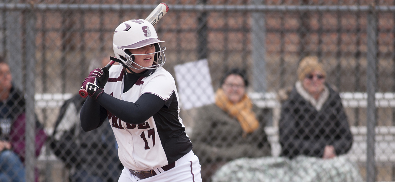 Softball Opens NEWMAC Play With Doubleheader Sweep of Coast Guard