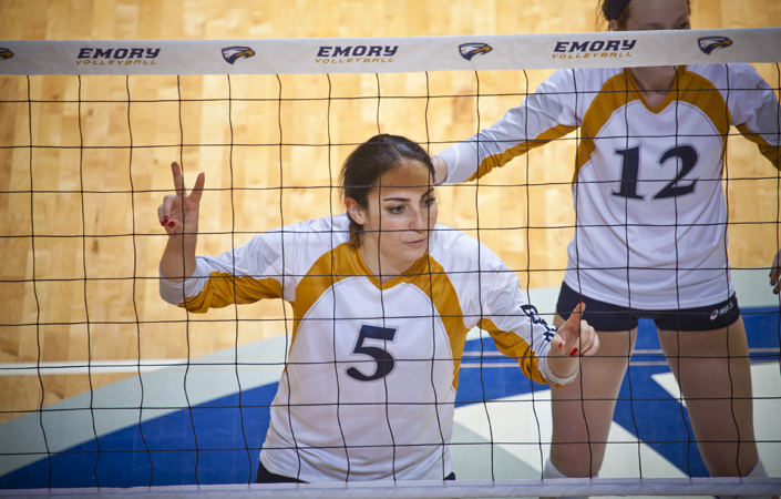 Emory Volleyball Starts Pennsylvania Tour With UAA Round Robin II