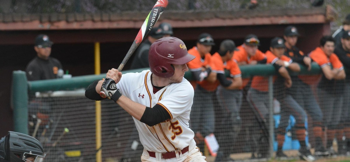 Patrick Gavin hit his first home run of the season and combined for six hits in the doubleheader sweep of Oxy.