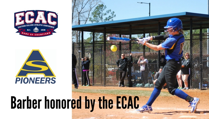 Barber Named All-ECAC North