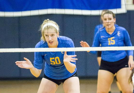WOMEN'S VOLLEYBALL TOO MUCH FOR REGIS; DOWN PRIDE 3-0