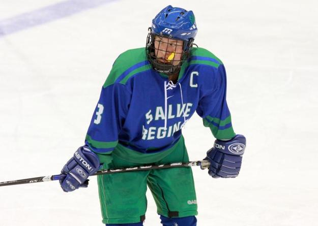 Porter set Salve Regina's single season records for both points and goals this year