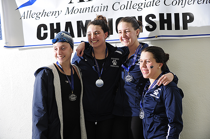 Horn Named AMCC Swimmer of the Year; All-Conference Team Announced