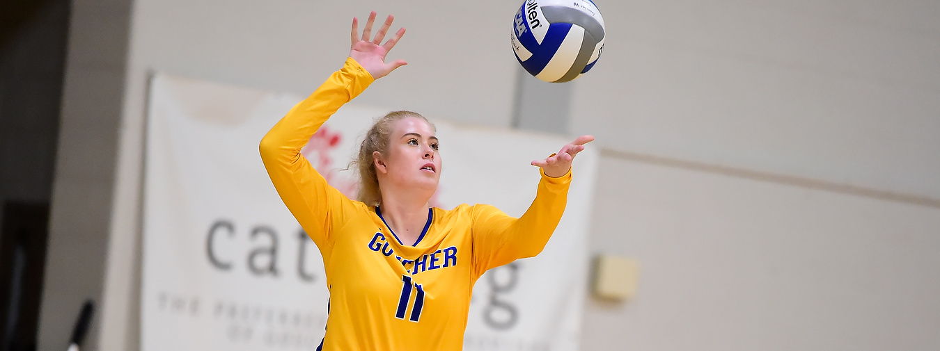 Goucher Women's Volleyball Takes Two Matches In Straight Sets