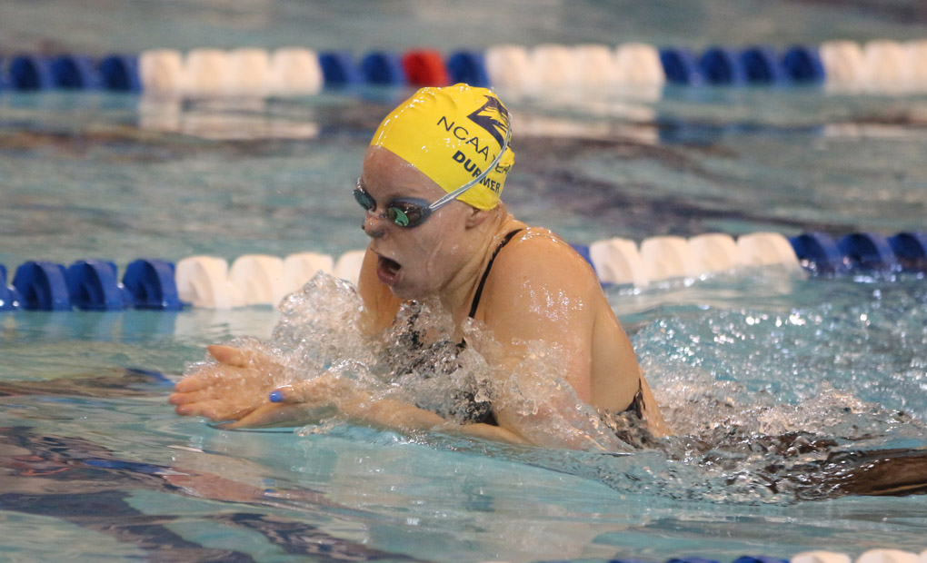 Julia Durmer Named UAA Women's Swimmer of the Week
