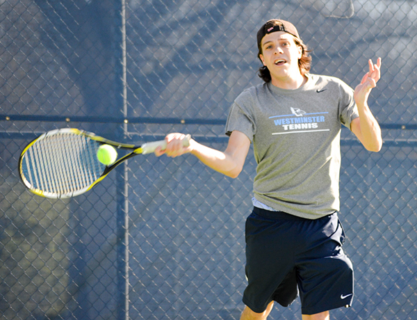 Men's Tennis Defeats STLCOP, Shuts Out Fontbonne
