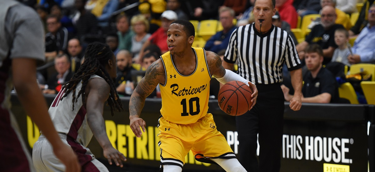 Second Half Surge Lifts UMBC Men's Basketball Past New Hampshire, 68-59 on Sunday