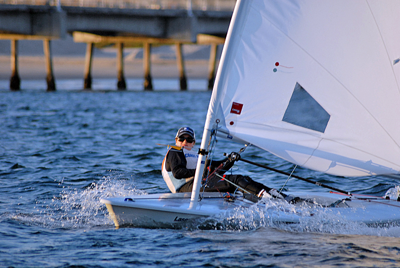 Cefali 3rd, Frost 6th After Day One at ICSA Women's Singlehanded National Championship