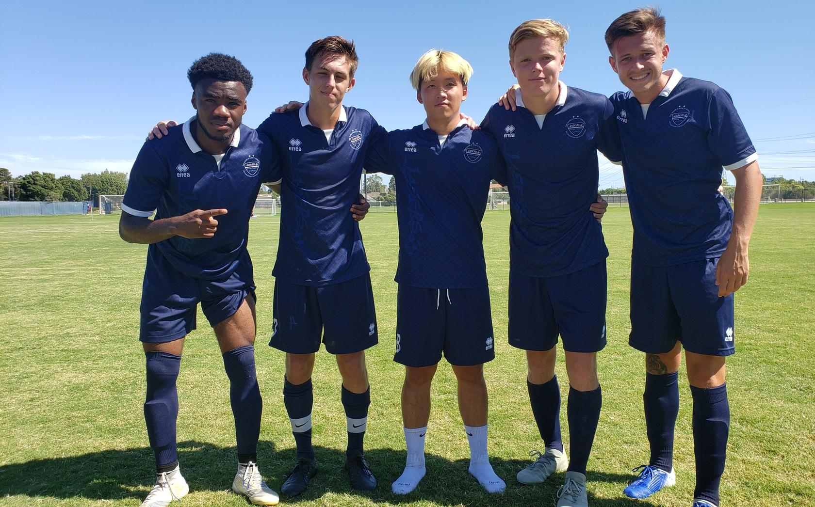 Men's soccer team rolls Southwestern for first win of year