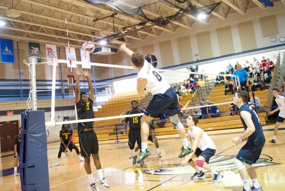 Men's Volleyball Swept by SUNY-Poly on Friday