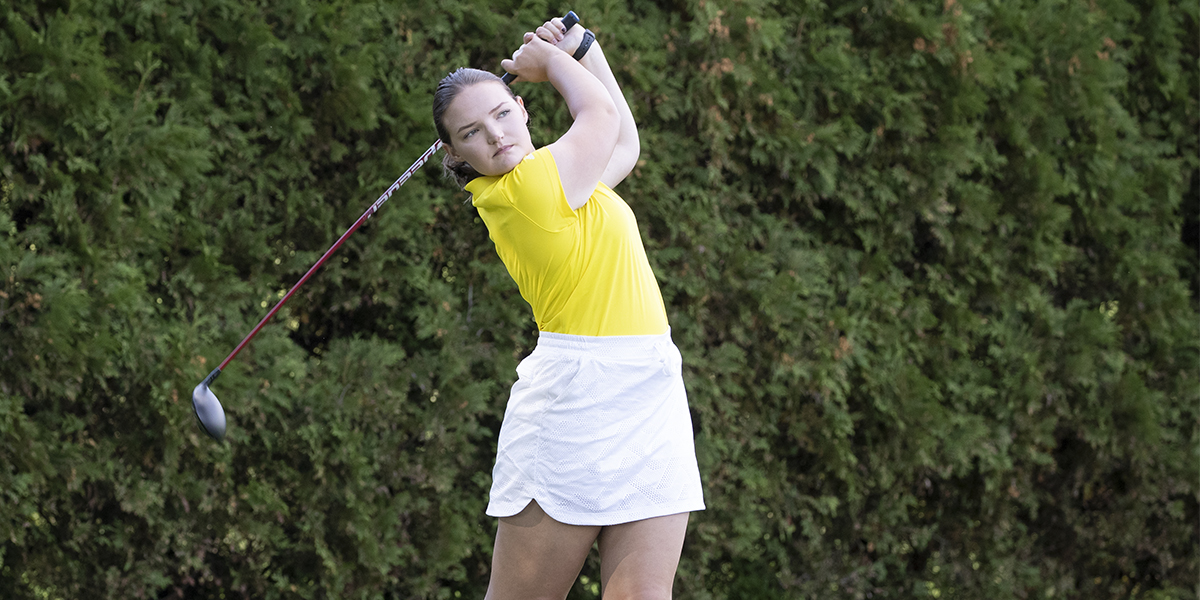 Women's Golf Comes Home with a 5th-Place Finish at NWGC Championship; Goulet Earns All-Conference Honors