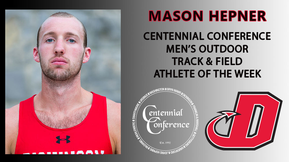 Hepner Named CC Track & Field Athlete of the Week