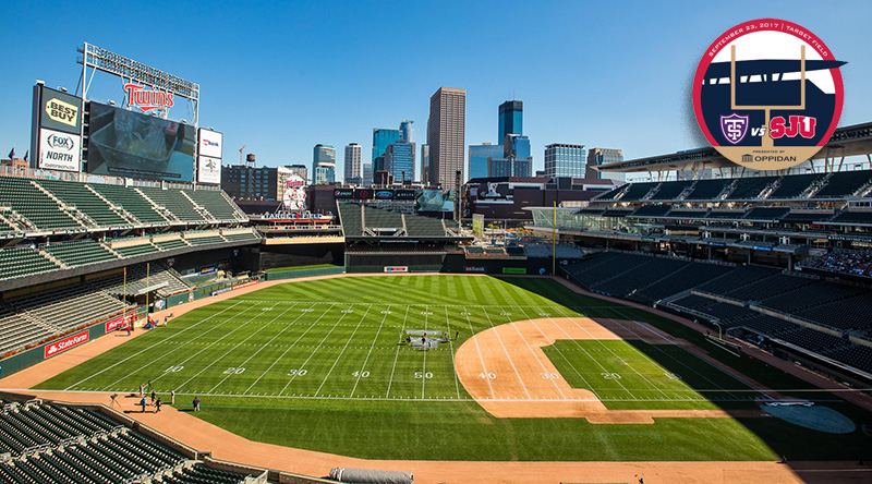 Target Field, getting set