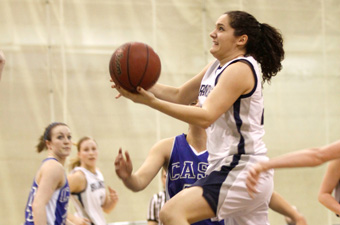 Balanced attack leads Brandeis women past Wellesley, 48-37