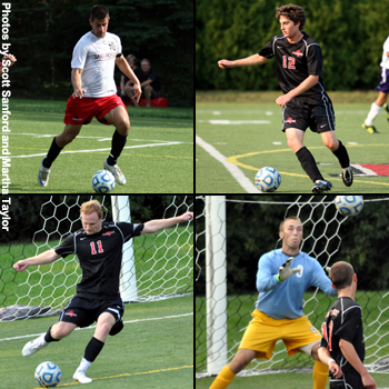 Four Lake Forest Players Earn NSCAA All-Region Honors