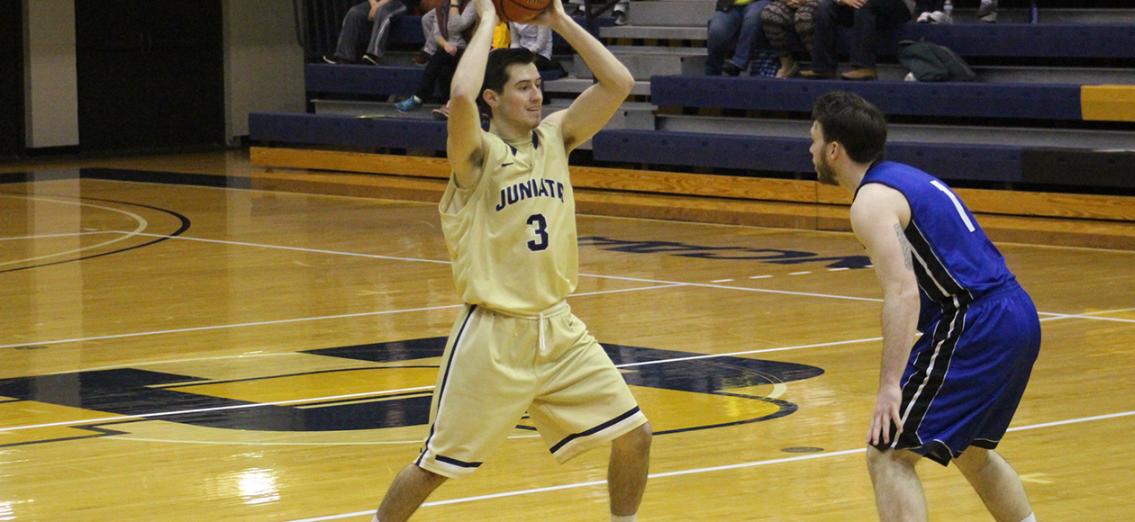 Brandon Martinazzi led the Eagles with 18 points.