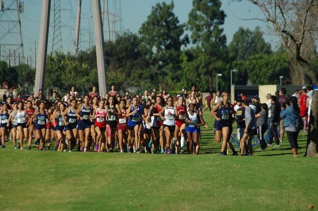 The Cerritos women's cross country team finished in 19th place at the SoCal Championships