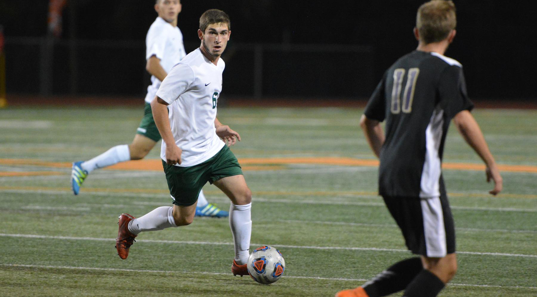 Venti double lifts Men's Soccer past Oxy, 3-1
