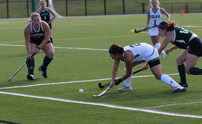 Alyssa Orsino (2) scored a pair of goals for Keuka College on Wednesday -- Photo by Sarah Tyler