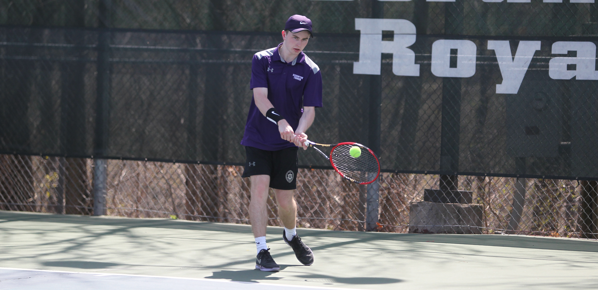 Tarquin McGurrin was honored as The University of Scranton Athlete of the Week on Monday.