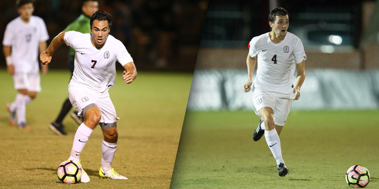 Trinity's Michaelis, Harris Earn United Soccer Coaches' All-America Honors