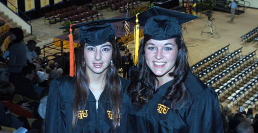 Student-athletes, support staff among Saturday's graduates