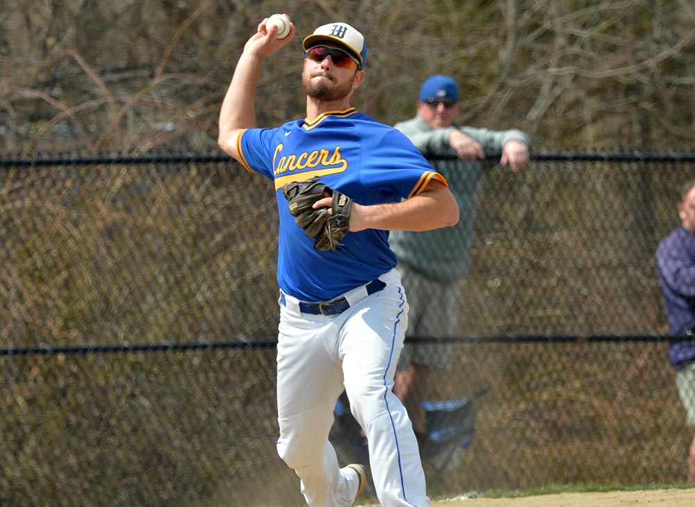 Baseball Swept by Westfield State in MASCAC Opener