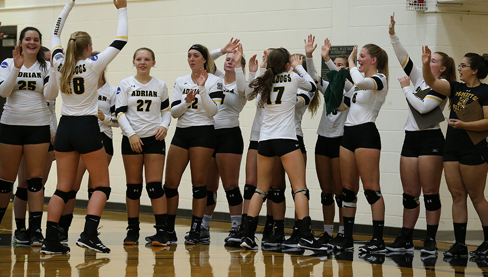 Women's Volleyball Downs Capital to Split Capital/Otterbein Classic