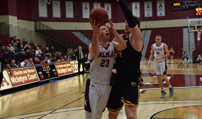 Men's Basketball Suffers Close Setback to Trine