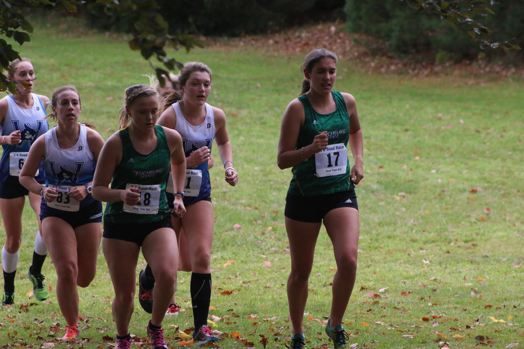 Falcons Compete in MASCAC Cross Country Championship