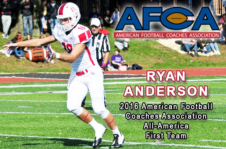 Anderson named to AFCA All-America Team