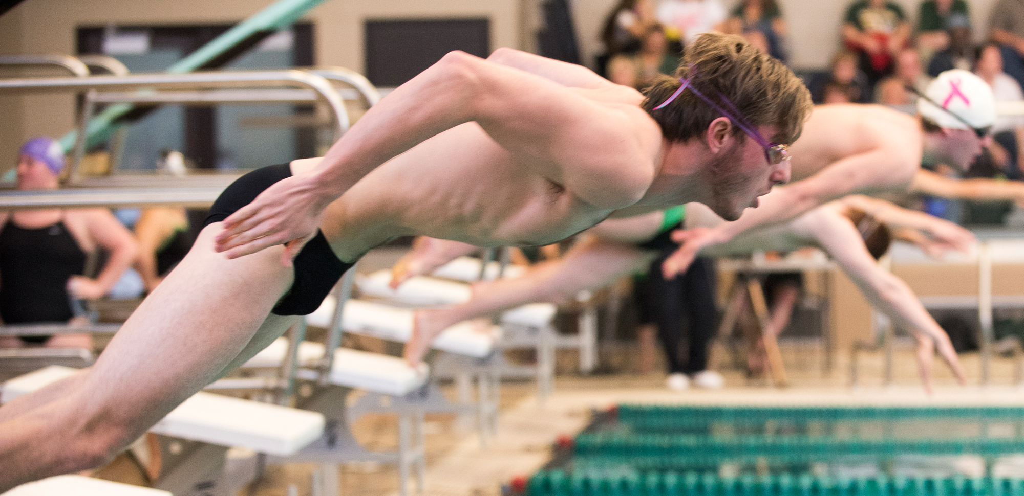 Swimming & Diving Programs Gear Up for Landmark Conference Championships This Weekend