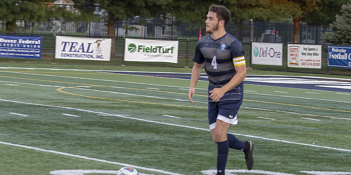 The Wesley Men's Soccer open the season with a WIN