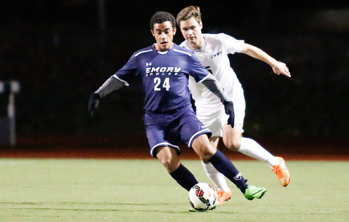 Khattab's First Half Goal Lifts Emory Men's Soccer to Win at NYU