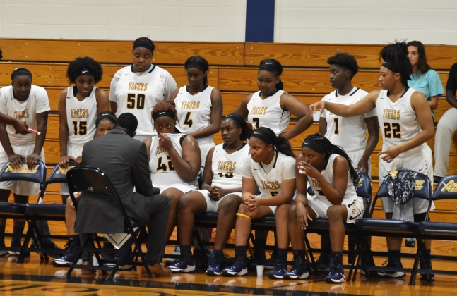 Lady Tigers Fall in Quarterfinals of GCAA Tourney