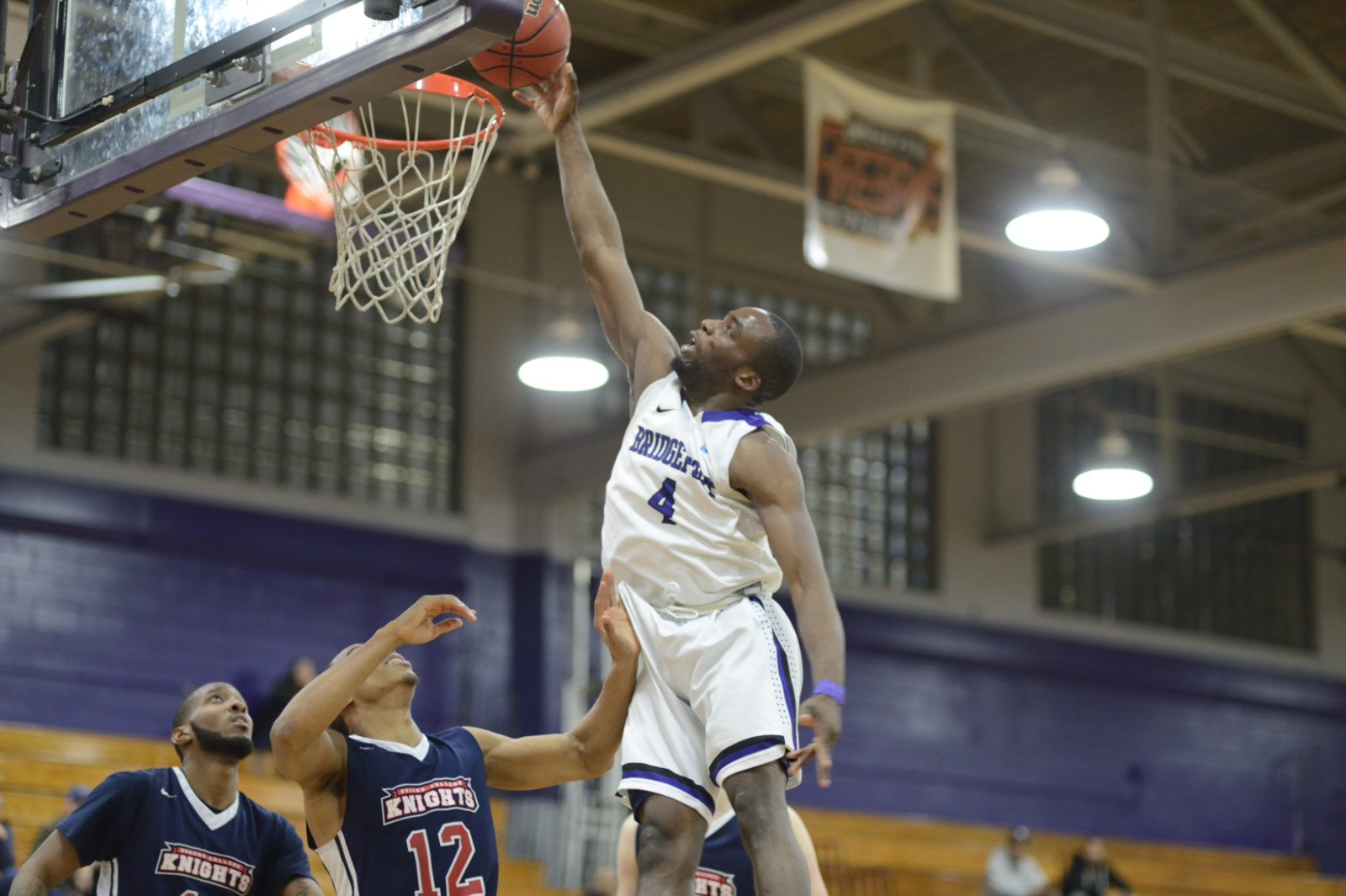Purple Knights Hold On For 80-77 ECC Men's Basketball Win Over UDC