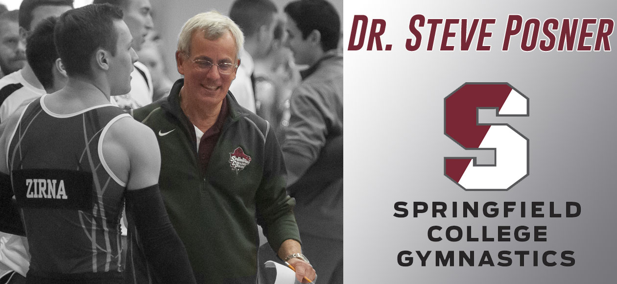 Posner To Retire After 35 Years as Men's Gymnastics Coach at Springfield College