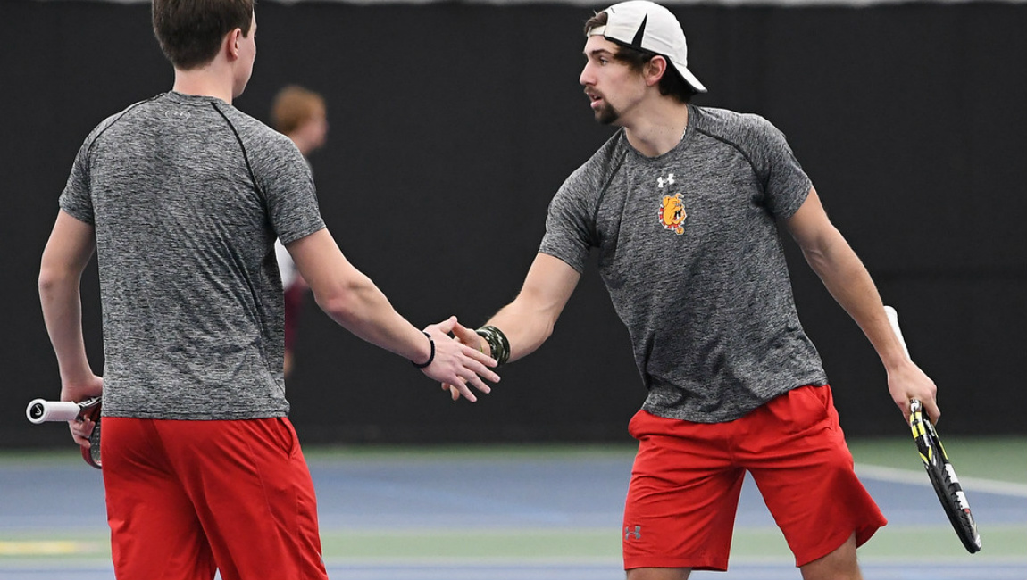 Ferris State Men's Tennis Suffers First Loss With Road Setback At 15th-Ranked Midwestern State