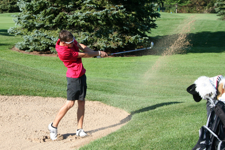 Men's Golf  finishes Ninth at WLC Invitational