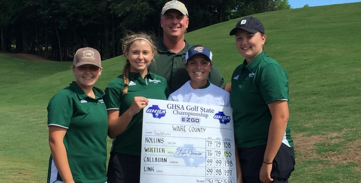 Kylee Wheeler Wins Individual State Golf Title