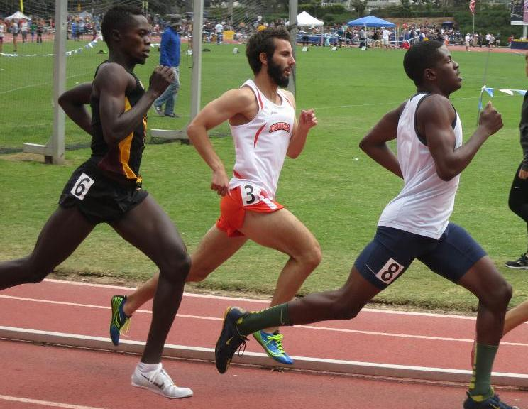 Martin Continues Comeback with Top-5 Time in 800 Meter