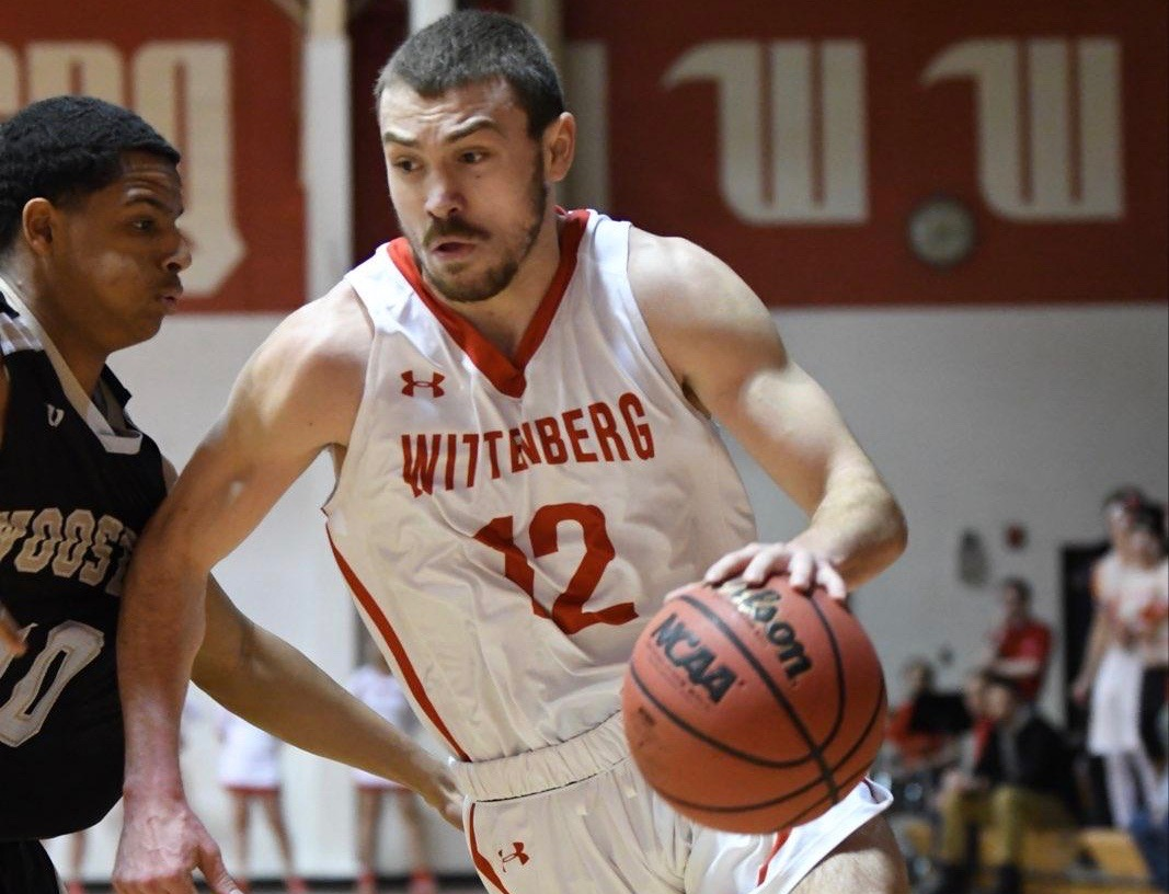 Senior Mitch Balser scored 20 points to help lead No. 25 Wittenberg in a 98-94 OT win at Ohio Wesleyan