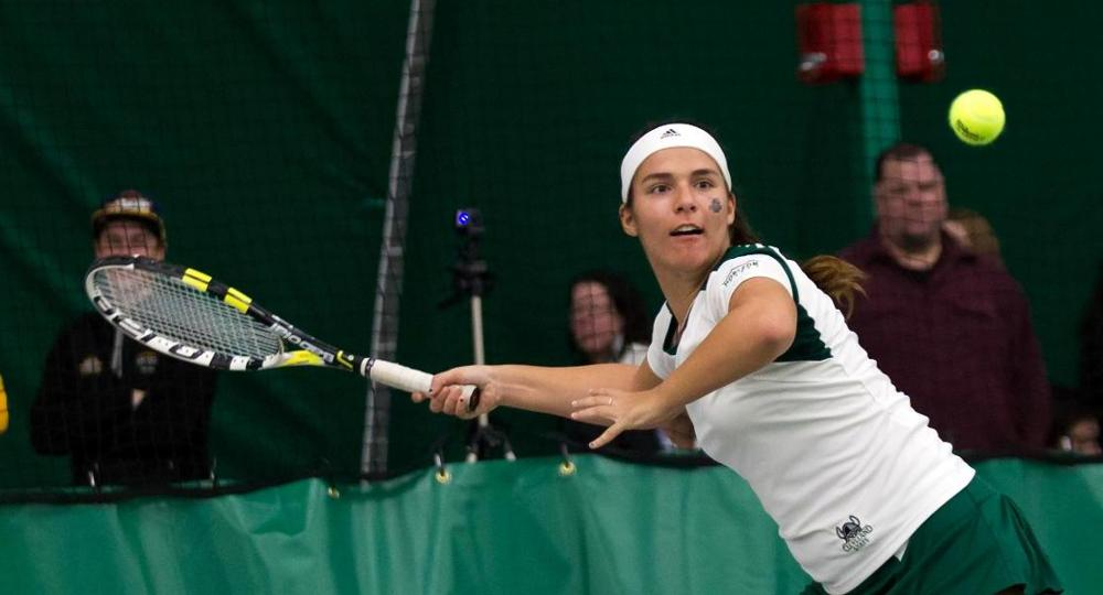 Women's Tennis Has Strong First Day At Akron Shootout