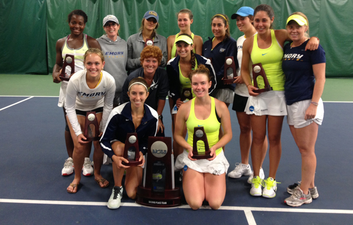 2012-13 Emory Women's Tennis Season Recap