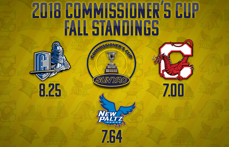 Geneseo leads in Commissioner's Cup standings following 2018 fall championships